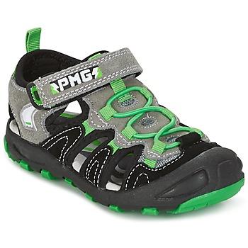 Schoenen Jongens Sandalen / Open schoenen Primigi CROSS Zwart / Groen