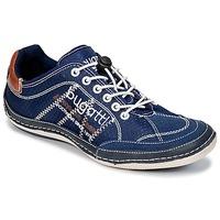 Schoenen Heren Lage sneakers Bugatti LAMETE Marine