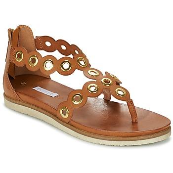 Schoenen Dames Sandalen / Open schoenen Bugatti BRETE COGNAC