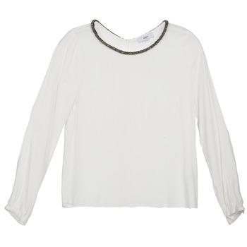 Textiel Dames Tops / Blousjes Suncoo LUCIA Ecru