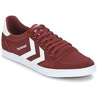 Schoenen Lage sneakers Hummel STADIL CANEVAS LOW Bordeaux