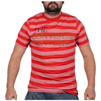 Textiel Heren T-shirts korte mouwen Converse  Rood