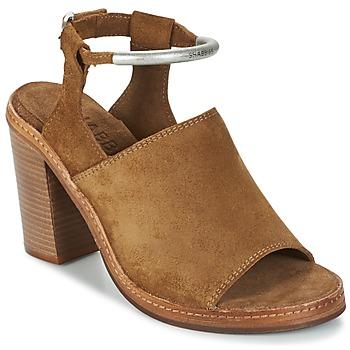 Schoenen Dames Sandalen / Open schoenen Shabbies MARZIO Brown
