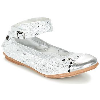 Schoenen Meisjes Ballerina's Ikks EMILY Zilver