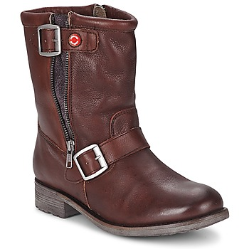 Schoenen Dames Laarzen Nobrand FISCHERIES Brown