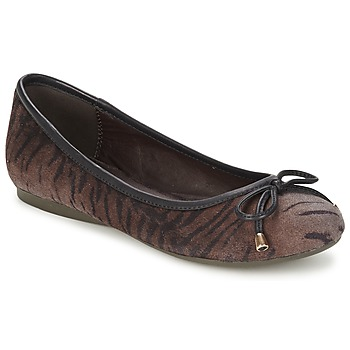 Schoenen Dames Ballerina's Moony Mood LIESA Brown