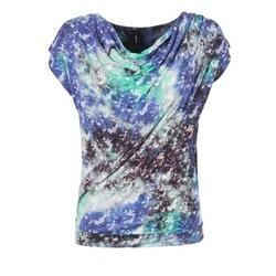 Textiel Dames Tops / Blousjes Smash SUIRIRI Blauw / Groen
