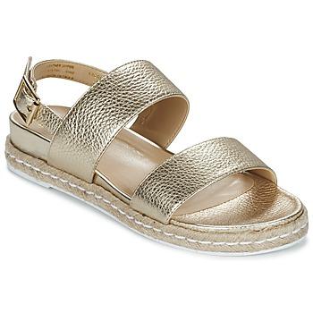 Schoenen Dames Sandalen / Open schoenen Dune London LACROSSE Goud