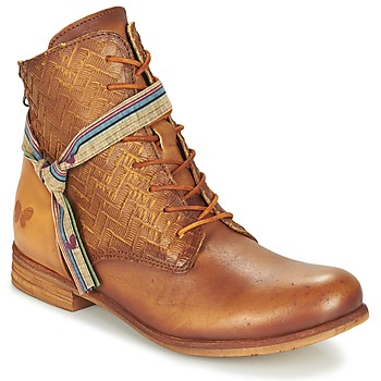 Schoenen Dames Laarzen Felmini MOSTAZA  CAMEL