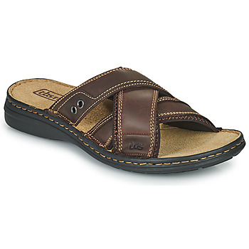 Schoenen Heren Slippers TBS BENAIX Brown