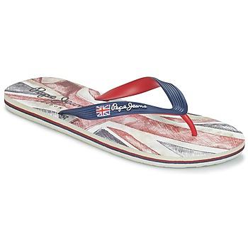 Schoenen Heren Slippers Pepe jeans HAWI JAYSON Marine