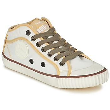 Schoenen Dames Lage sneakers Pepe jeans INDUSTRY Beige / Brown / Geel