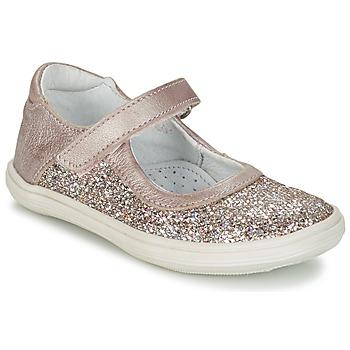 Schoenen Meisjes Ballerina's GBB PLACIDA Roze / Goud