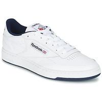 Schoenen Lage sneakers Reebok Classic CLUB C 85 Wit / Blauw