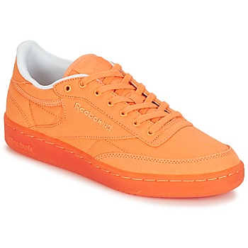Schoenen Dames Lage sneakers Reebok Classic CLUB C 85 CANVAS Orange