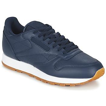 Schoenen Heren Lage sneakers Reebok Classic CL LEATHER PG Blauw