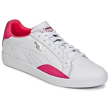 Schoenen Dames Lage sneakers Puma WNS MATCH LO BASIC.W Wit / Violet