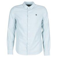 Textiel Heren Overhemden lange mouwen Timberland LS RATTLE RIVER OXFORD SHIRT SLIM Blauw