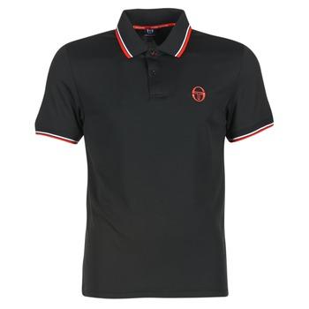 Textiel Heren Polo's korte mouwen Sergio Tacchini SPORTLIFE Zwart