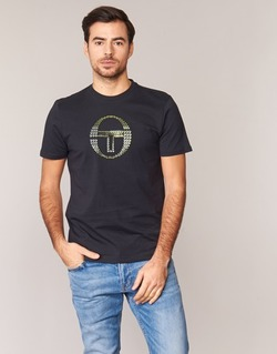 Textiel Heren T-shirts korte mouwen Sergio Tacchini DAVE TEE-SHIRT Zwart