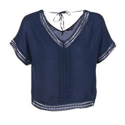 Textiel Dames Tops / Blousjes Best Mountain ROSAFY Marine