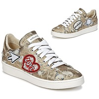 Schoenen Dames Lage sneakers Meline QOLI Goud