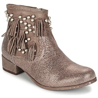Schoenen Dames Laarzen Mimmu MOONSTROP Brown