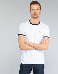 Textiel Heren T-shirts korte mouwen Teddy Smith THE TEE Wit