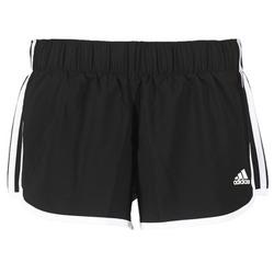 Textiel Dames Korte broeken / Bermuda's adidas Performance M10 SHORT WOVEN Zwart