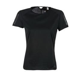 Textiel Dames T-shirts korte mouwen adidas Performance RS SS TEE W Zwart