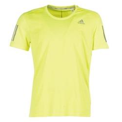 Textiel Heren T-shirts korte mouwen adidas Performance RS SS TEE M Geel