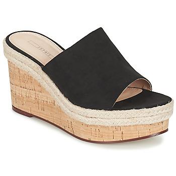 Schoenen Dames Sandalen / Open schoenen Esprit FARY MULE Zwart