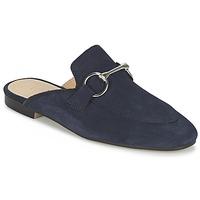 Schoenen Dames Leren slippers Esprit MIA SLIDE Marine