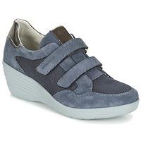 Schoenen Dames Lage sneakers Stonefly EBONY Blauw