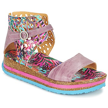 Schoenen Dames Sandalen / Open schoenen Think REMIL Roze / Multikleuren
