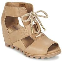 Schoenen Dames Sandalen / Open schoenen Sorel JOANIE LACE Sahara