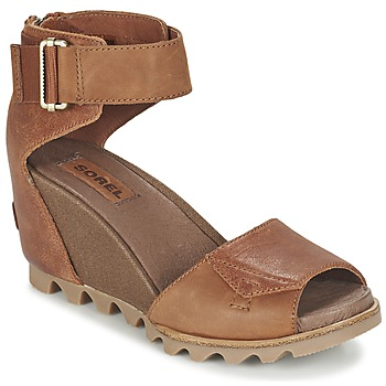 Schoenen Dames Sandalen / Open schoenen Sorel JOANIE SANDAL Brown / Rustique