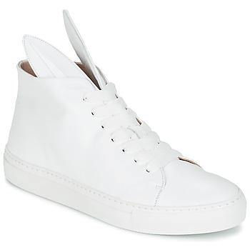 Schoenen Dames Hoge sneakers Minna Parikka BUNNY SNEAKS Wit