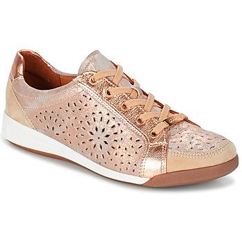 Schoenen Dames Lage sneakers Ara ZIMELLE Roze / Métallisé