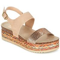 Schoenen Dames Sandalen / Open schoenen Bullboxer GROJETINE Beige / Multikleuren
