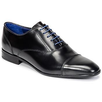 Schoenen Heren Derby Azzaro RAEL Zwart