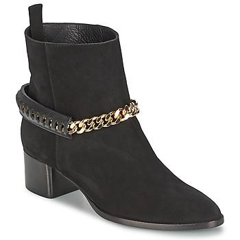 Schoenen Dames Enkellaarzen Roberto Cavalli YPS542-PC519-05051 Zwart