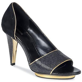 Schoenen Dames Sandalen / Open schoenen Roberto Cavalli YDS637-UF013-05051 Zwart