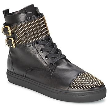 Schoenen Dames Hoge sneakers Kennel + Schmenger URZI Zwart / Goud