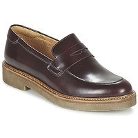 Schoenen Dames Mocassins Kickers OXMOX Bordeaux