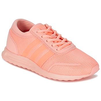 Schoenen Meisjes Lage sneakers adidas Originals LOS ANGELES J Corail