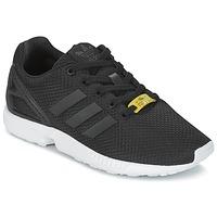 Schoenen Kinderen Lage sneakers adidas Originals ZX FLUX J Zwart