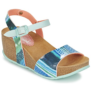 Schoenen Dames Sandalen / Open schoenen Desigual BIO 7 BLUE AQUARELLA Blauw