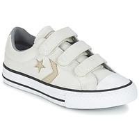 Schoenen Jongens Lage sneakers Converse STAR PLAYER 3V TEXTILE OX Ecru / Kaki