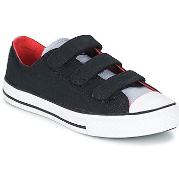 Schoenen Jongens Lage sneakers Converse CHUCK TAYLOR ALL STAR 3V SPRING FUNDAMENTALS OX Zwart / Blauw / Wit